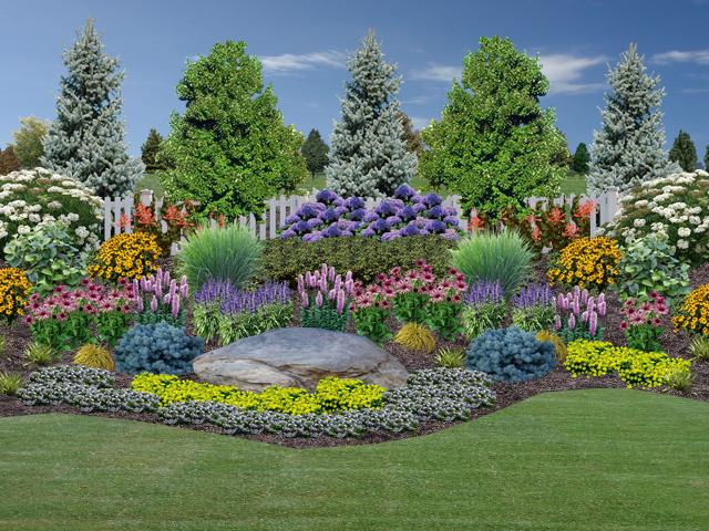 Landscape design rogers spring hill garden center for Springhill designs