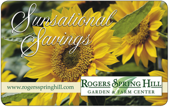 ... Club For Exclusive Promotions, Discounts And More. Get A Gift Card,  Perfect For Any Occasion. Sign Up For Our Weekly Newsletter For Gardening  Tips, ...