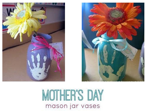 colorful vase craft