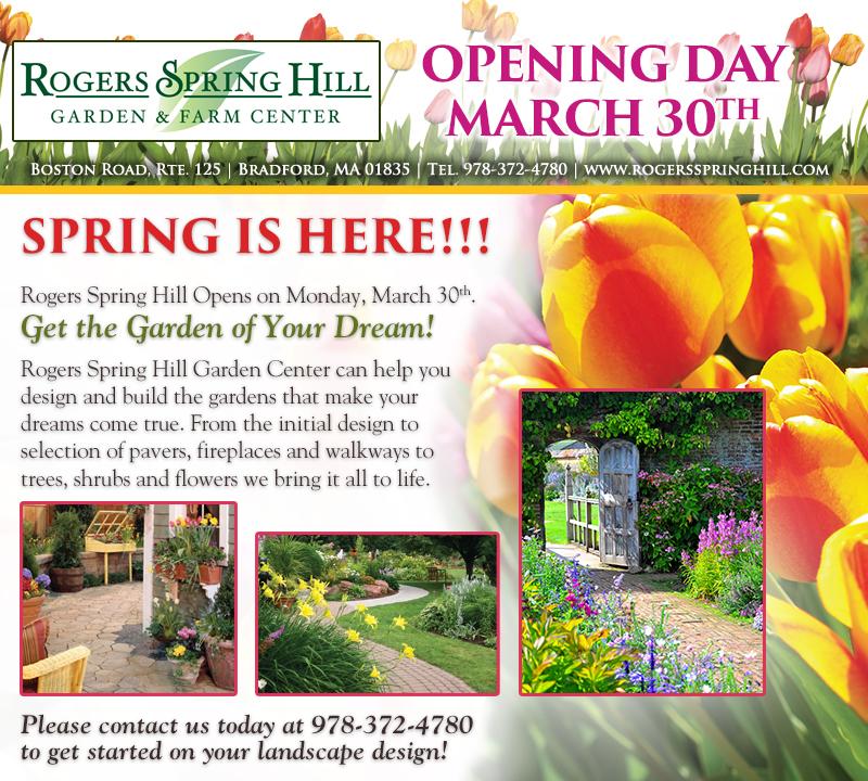 Rsh March26 Gardenofyourdreams Rogers Spring Hill Garden Center